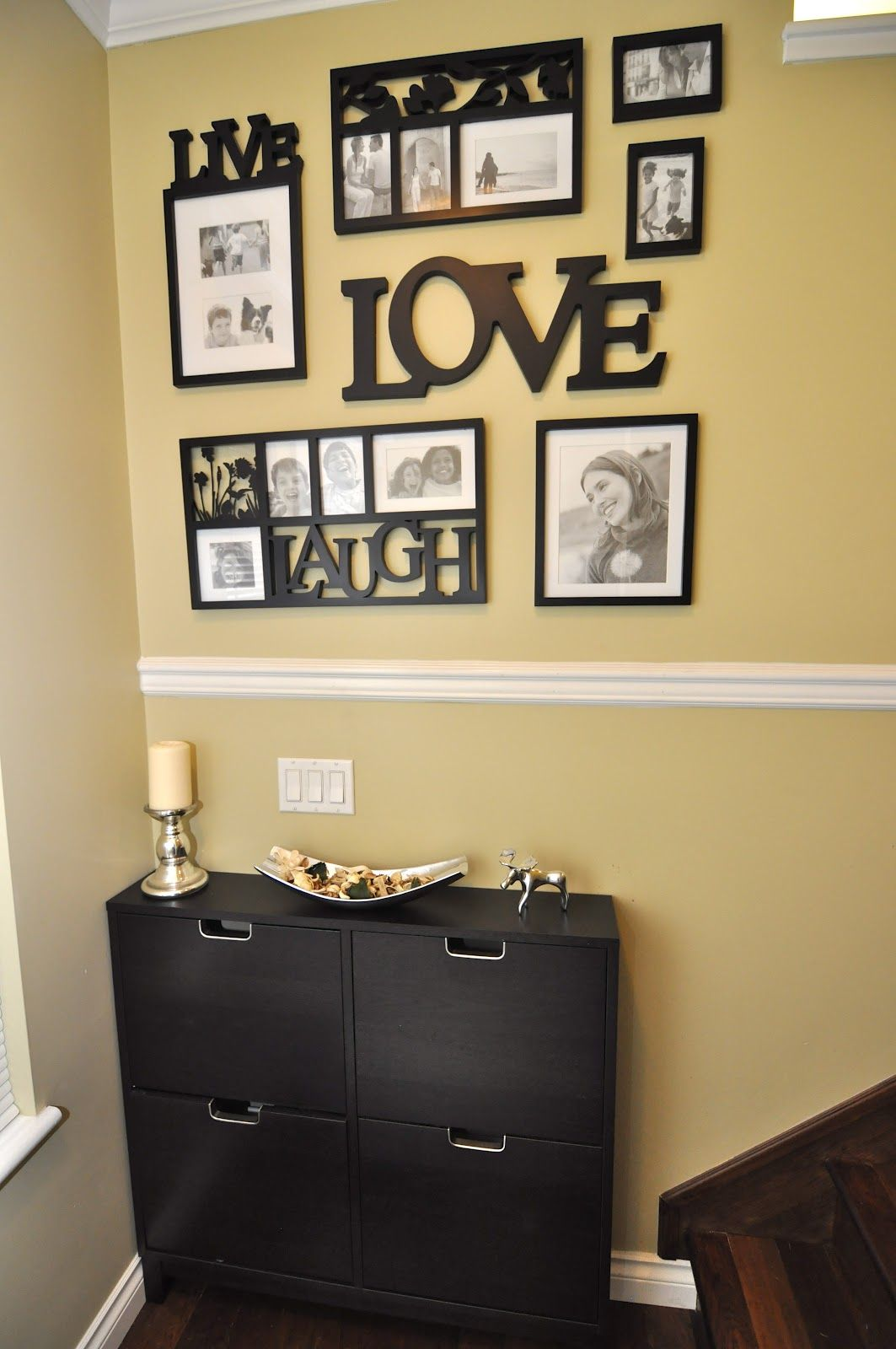 DIY Home Decorating Idea Wall Decor -- Check out the image by ...