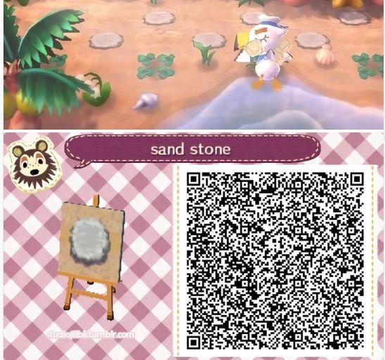 Animal Crossing New Leaf Qr Codes Sand Stone Pattern Animal Crossing 3ds Qr Codes Animals Qr Codes Animal Crossing