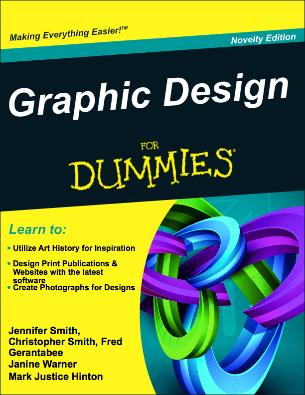 The Official For Dummies Cover Generator Web Design Books Graphic Design Book Design