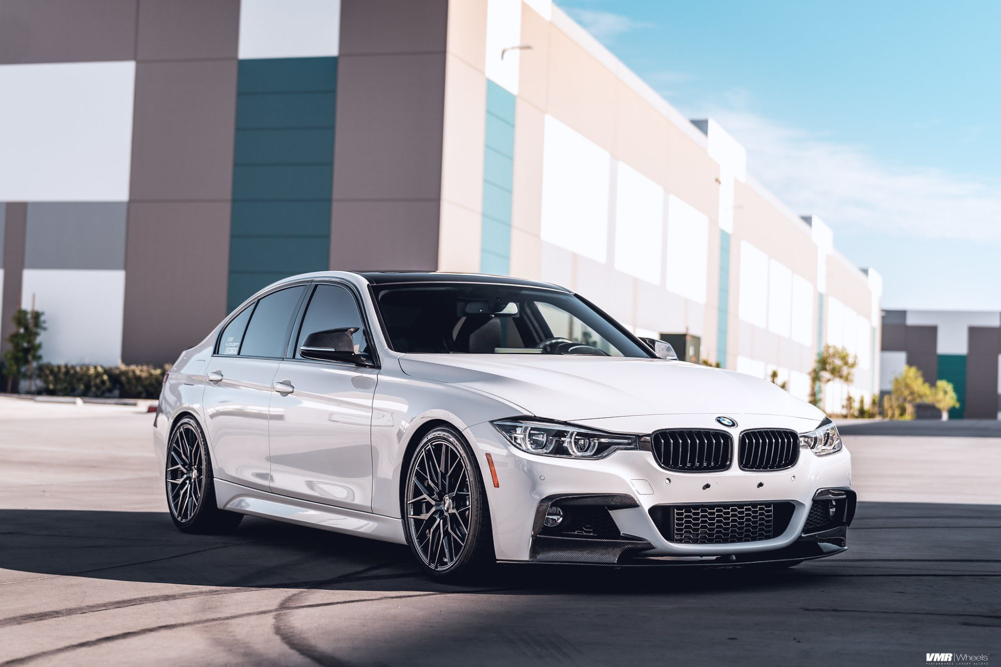 Aftermarket Frontbmw Series Wheels White Wheel Front 340i With V802 Bmw F30 Vmr 3bmw 3 Series 340i F30 White With Vmr In 2020 Bmw 3 Series Bmw Bmw White