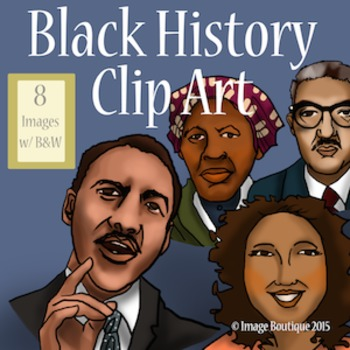 Black African American History Month Clip Art African American History Month African American History American History