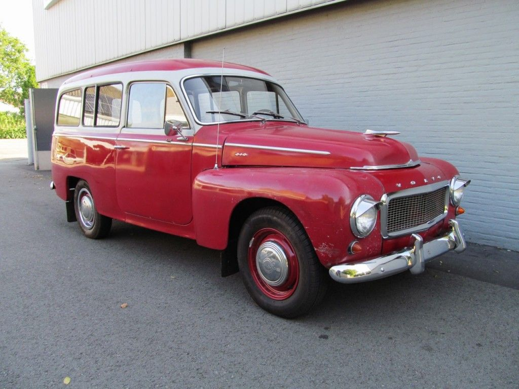 Volvo Duett 210 1961 (Rare Volvo in Unique Shape) | Vemu Car ...