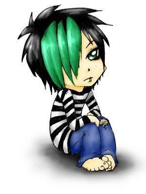 Emo Boy Cartoon Image Emo Boy Cartoon Picture Code Emo Cartoons Emo Art Emo Pictures