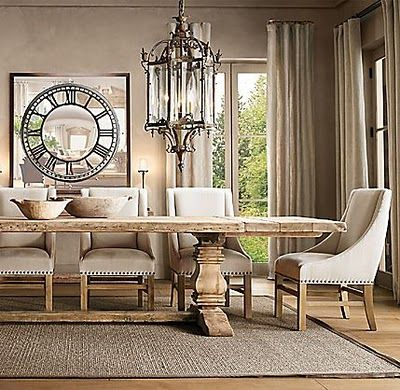 Restoration Hardware Salvaged Trestle Dining Table Copycatchic