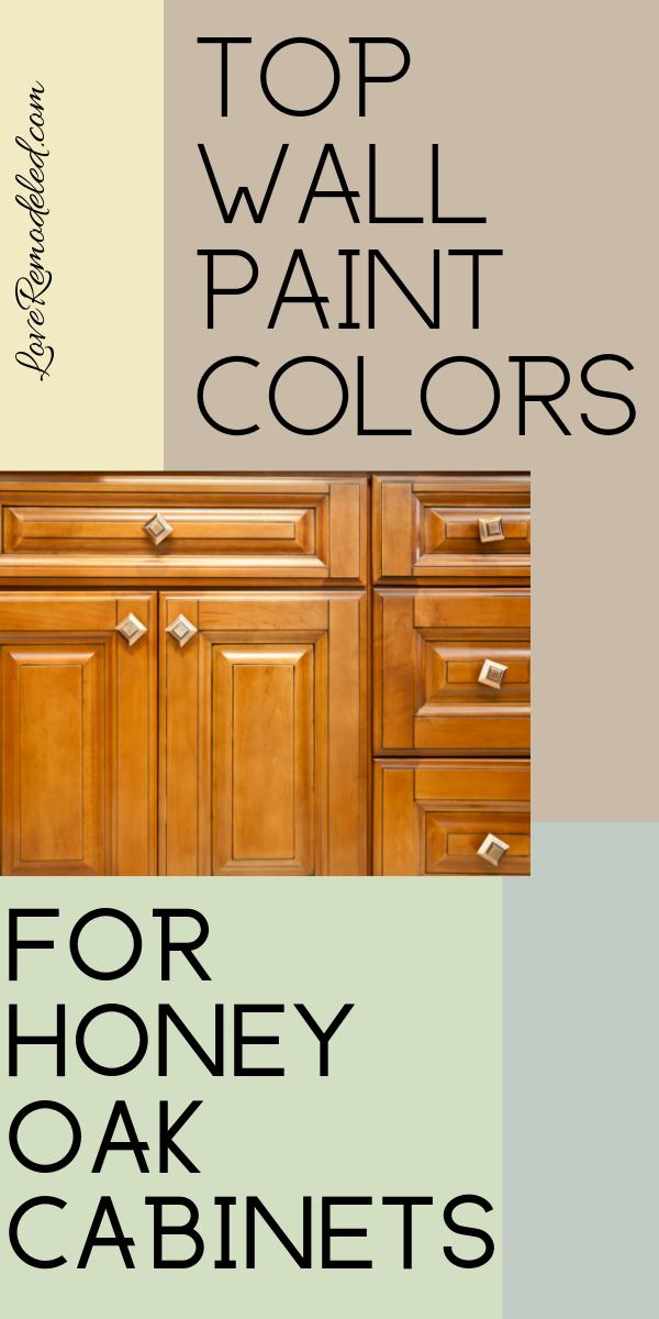 Wall Colors For Honey Oak Cabinets Honey Oak Cabinets Oak