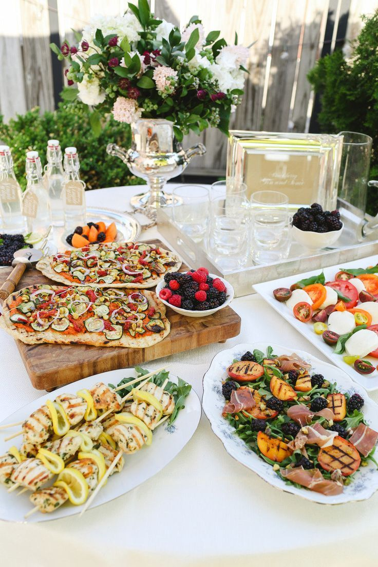 Rooftop Engagement Party It Girl Weddings Dinner Party Summer Pizza Dinner Party Dinner Party Recipes