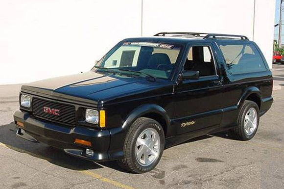 Gmc Typhoon The Only Real Car Ever Made Gmc Car Cars Trucks