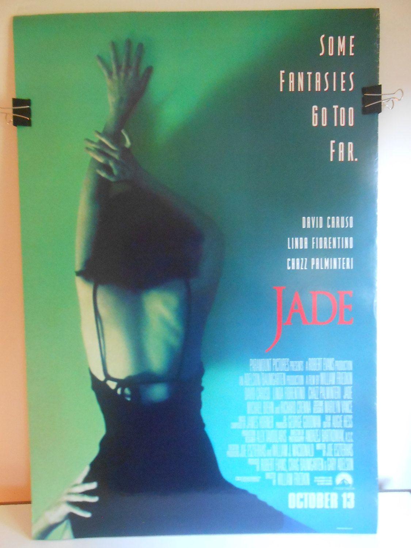 Jade (1995) Original Double Sided Movie Poster David Caruso 27x40