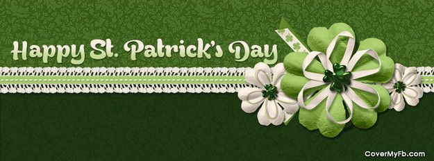 Happy St. Patrick's Day Facebook Cover