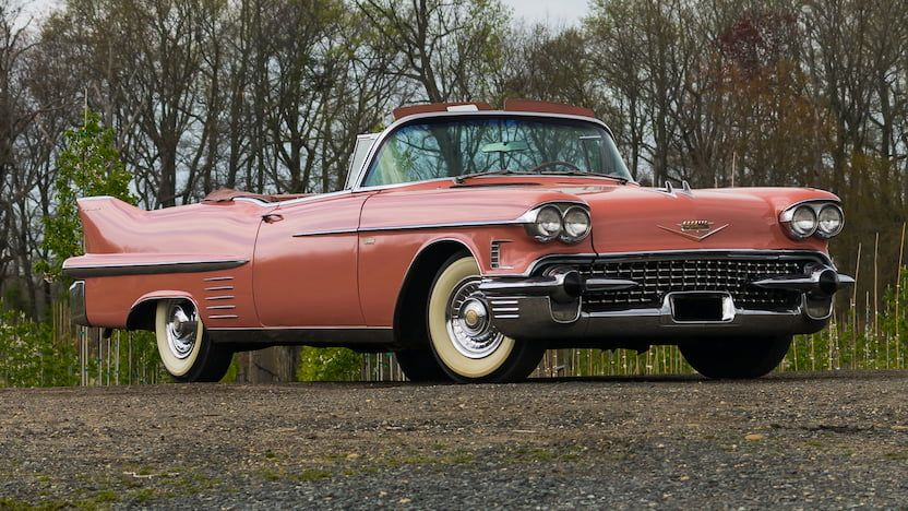 1958 Cadillac Series 62 Convertible | W255.1 | Indy 2018 | Mecum Auctions