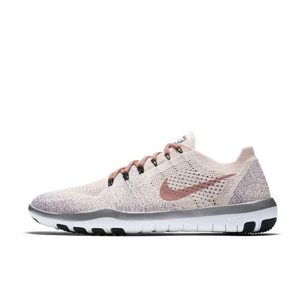timeless design f5f3a a1fb5 Nike Free Focus Flyknit 2 Chrome Blush Women s Training Shoe Size 11.5  (Pink)