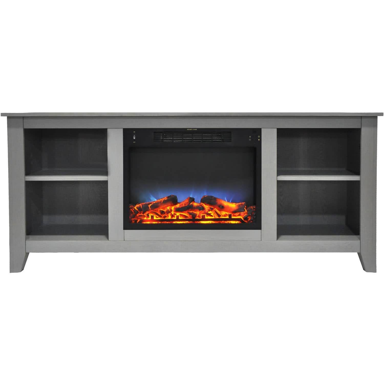 cambridge santa monica 63 in electric fireplace entertainment