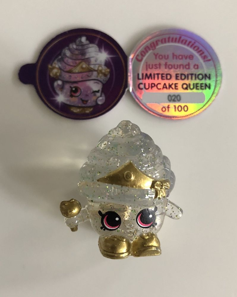 Shopkins Cupcake Queen Limited Edition Season 10 20 100 Rare Moose Toys Shopkins Shopkins Toys Shopkins Cupcakes