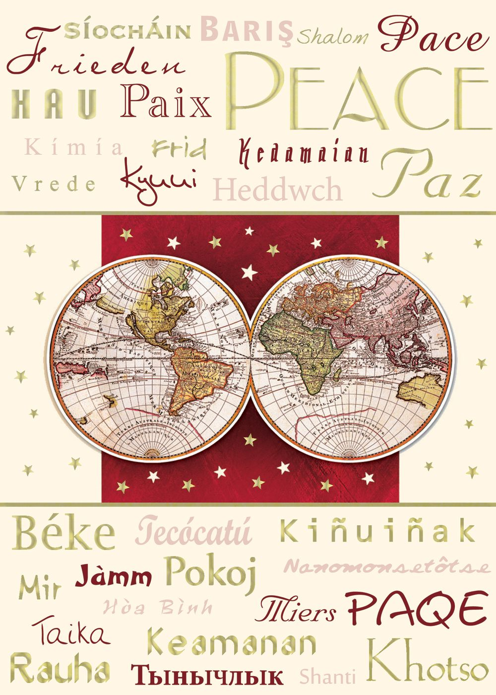 Languages of peace greeting cards by sussex printing corp languages of peace greeting cards by sussex printing corp m4hsunfo