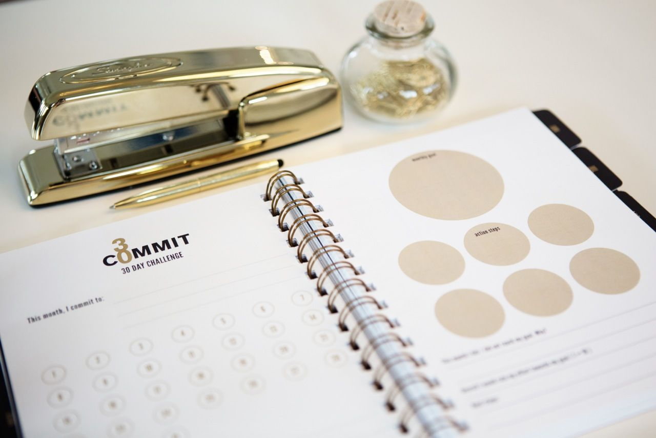 Day Planner Tackle Your Goals 30 Days At A Time