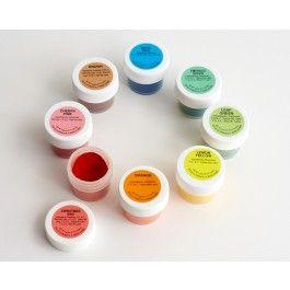 Powdered Food Color Kit-Set of 8 - Shop Cakegirls | FUN WITH FOOD ...