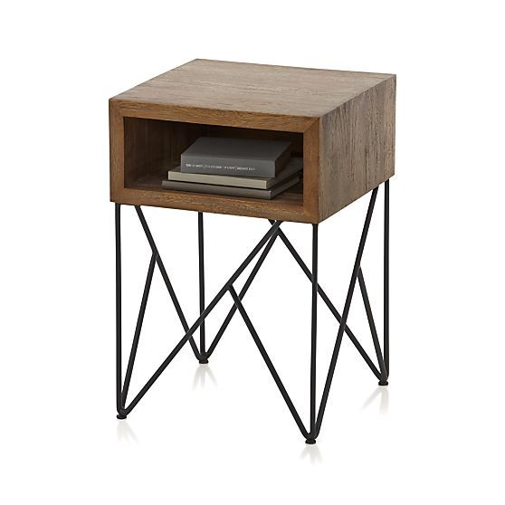 dixon side table in coffee tables & side tables | crate and barrel