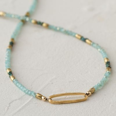 Seafoam Link Necklace in Gifts Gifts for Her (and You) Necklaces at Terrain