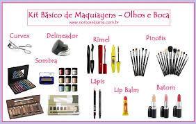 Resultado de imagem para produtos de maquiage basica