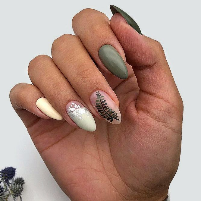 35 Lovely Designs for Almond Nails You Won't Resist ...