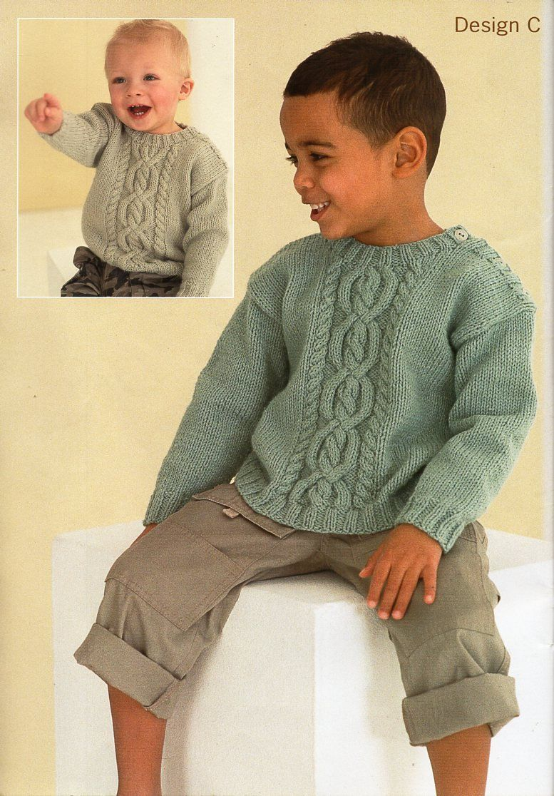 3fcb8db6d baby childrens aran sweater knitting pattern pdf - childs cable jumper -  button shoulder - 18-28