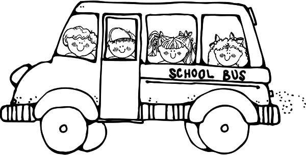 Bus Driver Take Student To School Coloring Pages Best Place To Color Di 2020