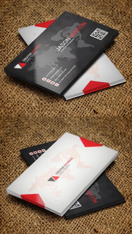 Pin by on typography pinterest business cards print ready modern business card psd templates with bleed and trim mark new business card design with fully editable photoshop psd files reheart Image collections
