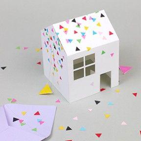 carte pop up anniversaire imprimer Carte d'anniversaire pop up. A imprimer gratuitement | Pendaison