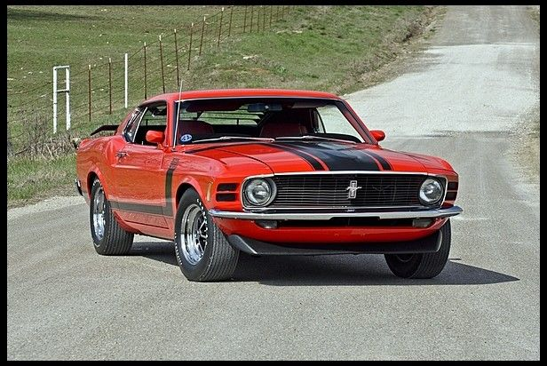 T215 1970 Ford Mustang Boss 302 Fastback 302 290 Hp 4 Speed