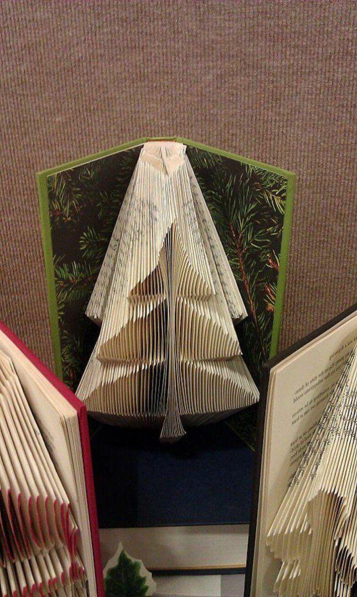 Tannenbaum Buch.Entdecken Sie Die Kunst Zum Bücher Falten In Unseren 85 Bildern Und