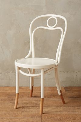 Anthropologie Anthropologie Scrolled Bentwood Dining Chair Circle Esszimmerstuhl Bugholzstuhle Stuhle