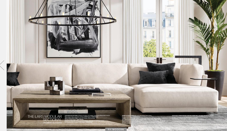 Modern Minimalist Classic Living Room Restoration Hardware Black Living Room White Liv Formal Living Rooms Rh Living Room Living Room Restoration Hardware [ 867 x 1495 Pixel ]