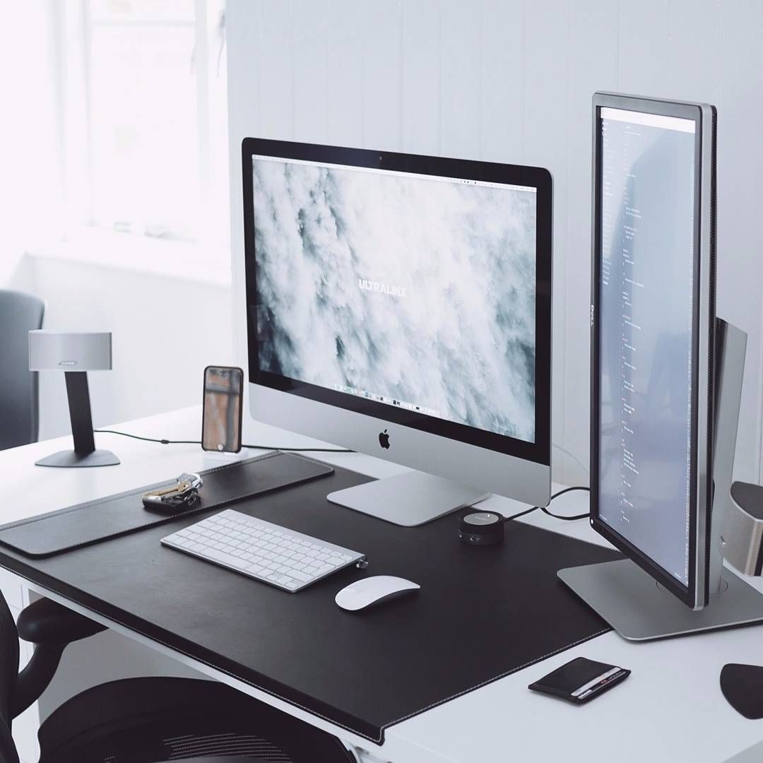 Best Home Design Software That Works For Macs: Winter Workspace By @ultralinx #interior #apple #design