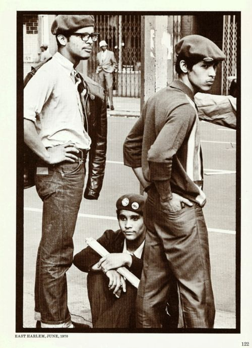 Young Lords Party members, 1970