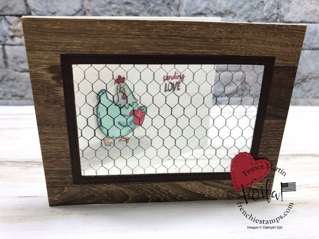 Window card with the All Wired Up Stamp