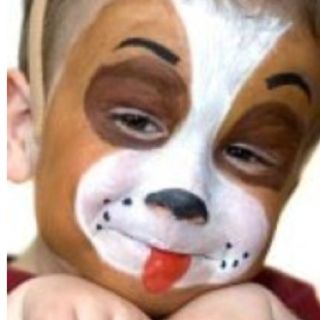 Puppy Dog My Creations Homemade Face Paints Painting