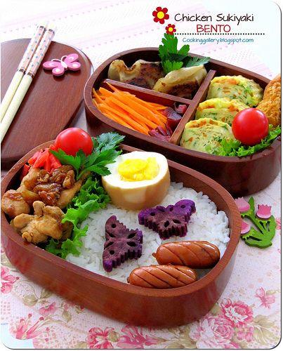 Chicken Sukiyaki Bento