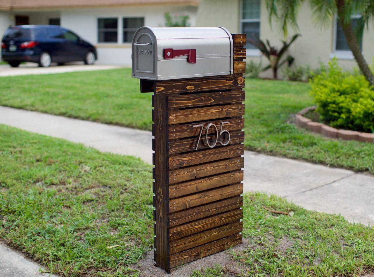Modern Style Mailbox Diy