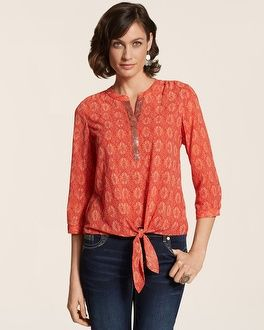 Chico's Desert Beauty Bianca II Shirt #chicos