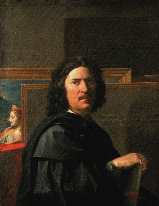 """Nicolas Poussin (1594-1665) """"Autant que par la vue, la peinture doit être appréhendée par la pensée et le peintre doit donner à lire. (...) La peinture n'est autre qu'une idée des choses incorporelles""""."""
