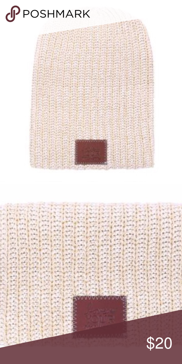 LOVE YOUR MELON Khaki Speckled Beanie Never been worn! Love Your Melon  Accessories Hats 560cbf018046
