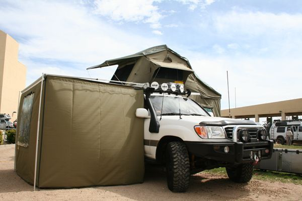 Full Walls Awning And Rtt Lc100 Toyota Land Cruiser 100 Land Cruiser Toyota Land Cruiser