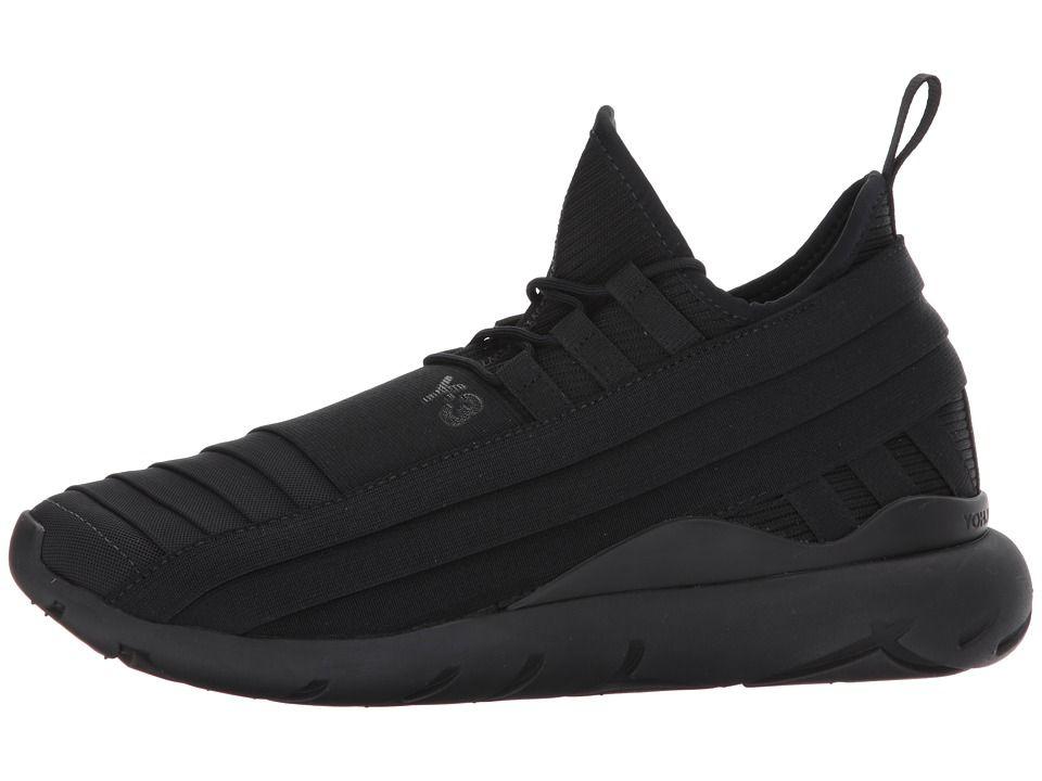 adidas Y-3 by Yohji Yamamoto Qasa Elle Lace 2.0 Women s Lace up casual Shoes  Core Black Sheer Grey Y-3 Core Black 2aeab45705