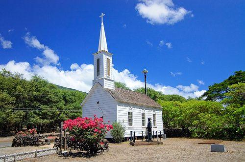 St. Joseph Church on Molokai, Hawaii by Fazia_, via Flickr
