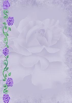 Purple Rose On Craftsuprint Designed By Elisha Williams