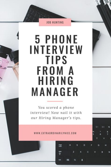 Five Phone Interview Tips From A Hiring Manager Career advice - career advisor resume