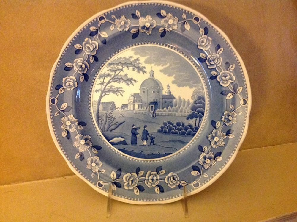 ITALIAN CHURCH Spode Plate Engravers/' Archive Collection