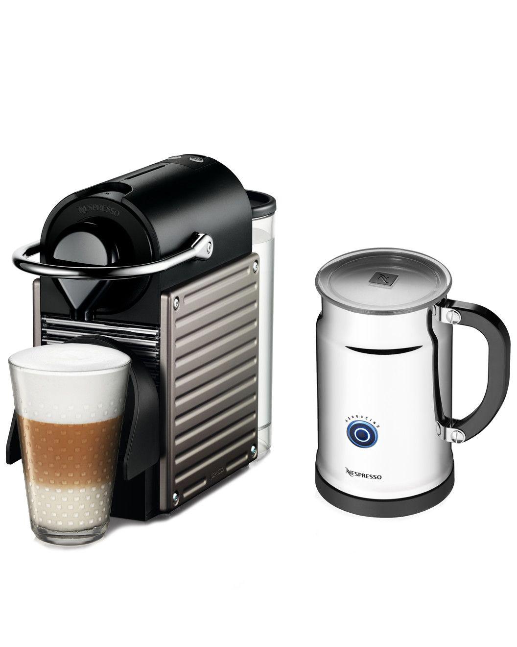 Spotted This Nespresso Pixie Espresso Machine Aeroccino On Rue