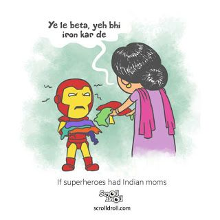 English Sarcastic Indian Mother