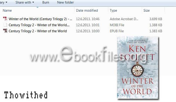 Winter of the World PDF Epub Mobi by Ken Follett Free